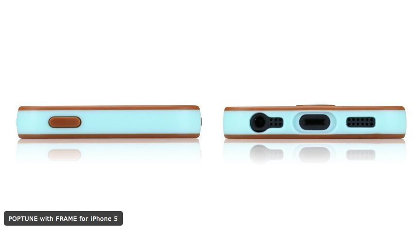 Tunewear Poptune Choco Mint за iPhone 5 - 4