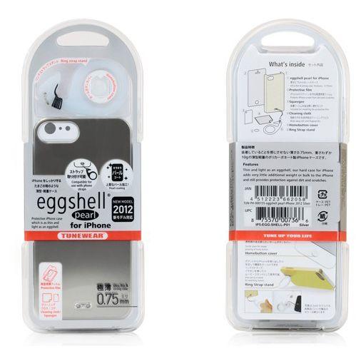 Tunewear Eggshell Pearl за iPhone 5 -  розов - 5
