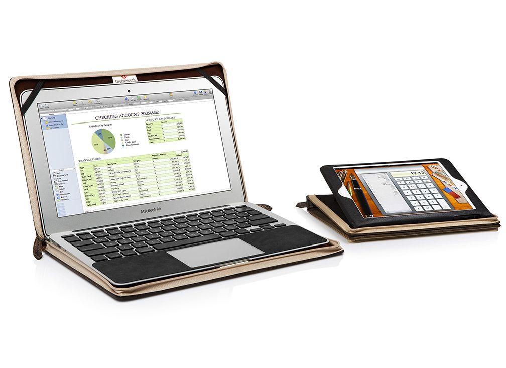 TwelveSouth BookBook калъф за iPad mini - черен - 7