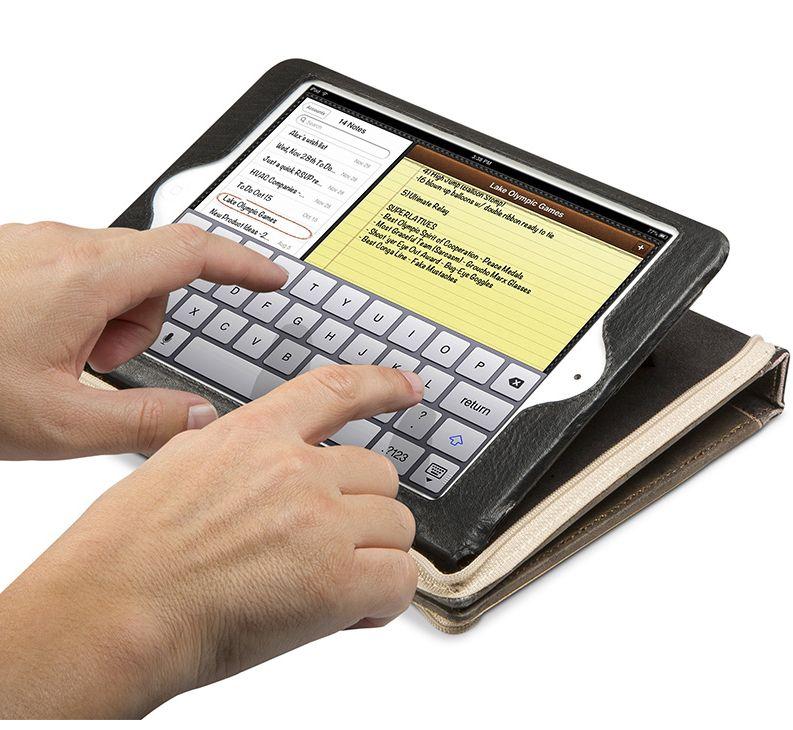 TwelveSouth BookBook калъф за iPad mini - черен - 4