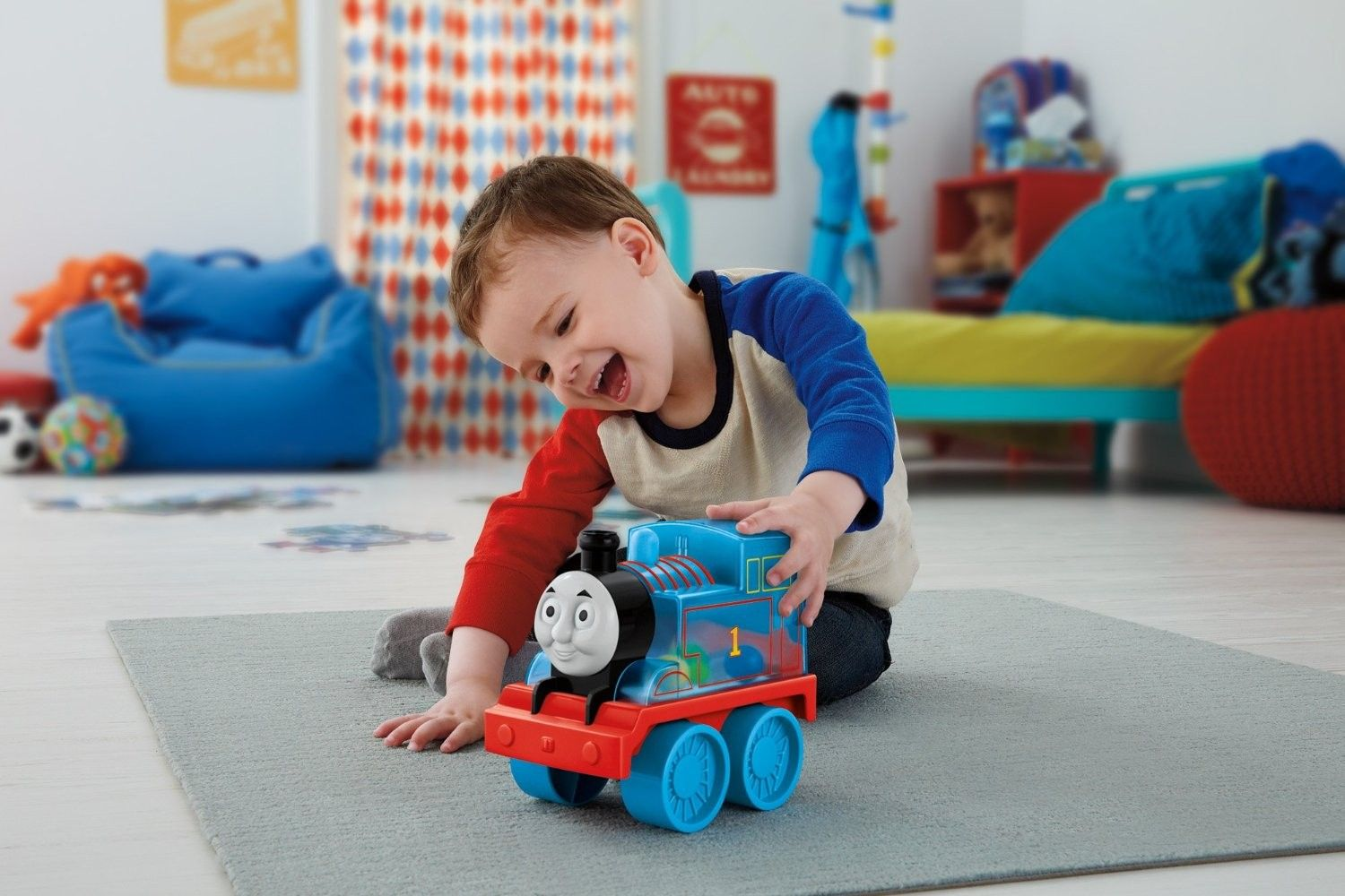 Играчка за бутане Fisher Price My First Thomas & Friends - Томас - 4