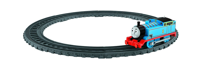 Комплект за игра Fisher Price My First Thomas & Friends - Моторизирано влакче Томас с двойно трасе - 1