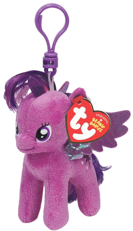Ключодържател TY Toys My Little Pony - Плюшено пони Twilight Sparkle, 11 cm - 2