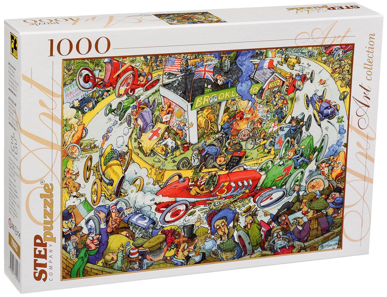 Пъзел Step Puzzle от 1000 части - Време е за почивка! - 1