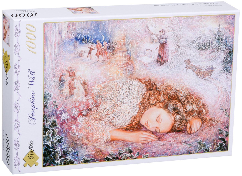 Пъзел Grafika от 1000 части - Зимен сън, Жозефин Уол - 2