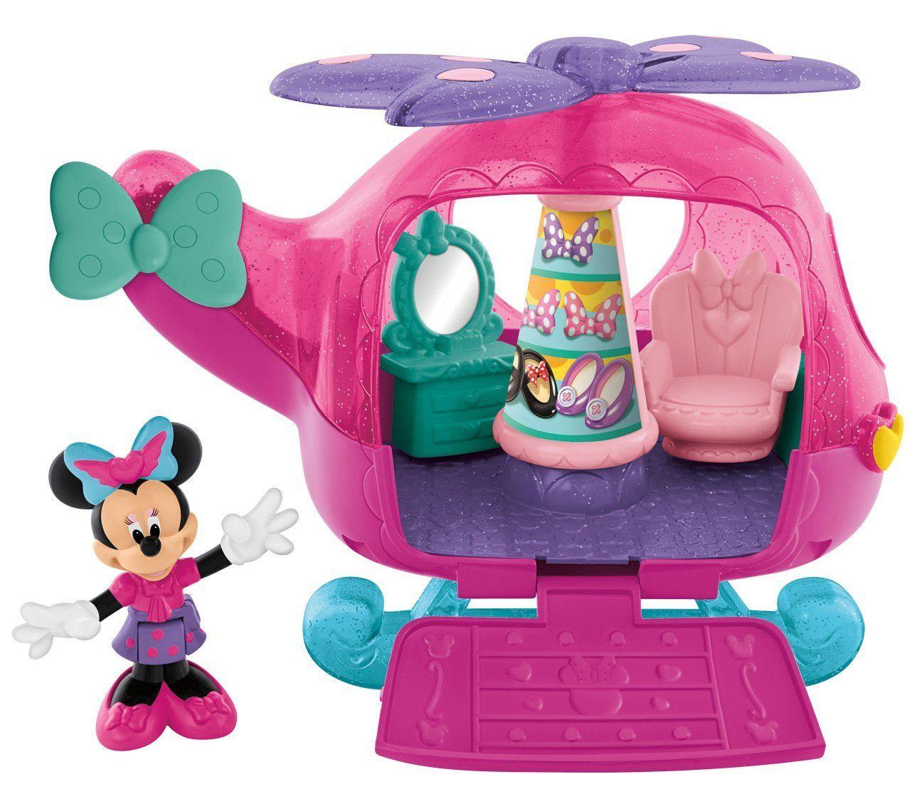 Комплект за игра Fisher Price - Хеликоптерът-бутик на Мини Маус - 1