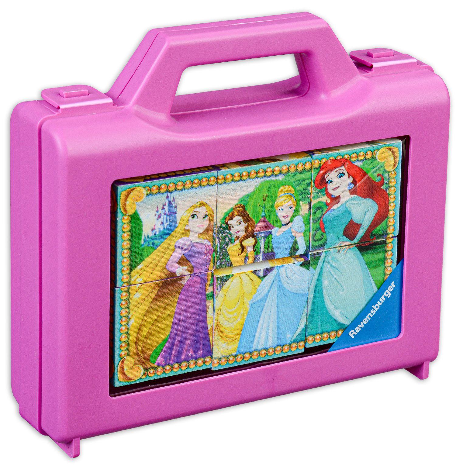 Пъзел с кубчета Ravensburger от 6 части - Дисни принцеси - 1