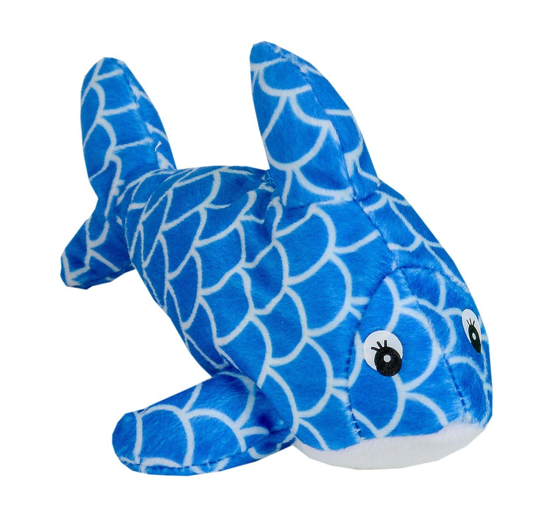 Плюшена играчка Morgenroth Plusch - Синя рибка, 22 cm - 1