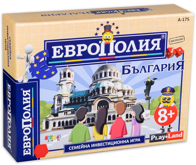 Детска настолна игра PlayLand - ЕвроПолия, България - 1