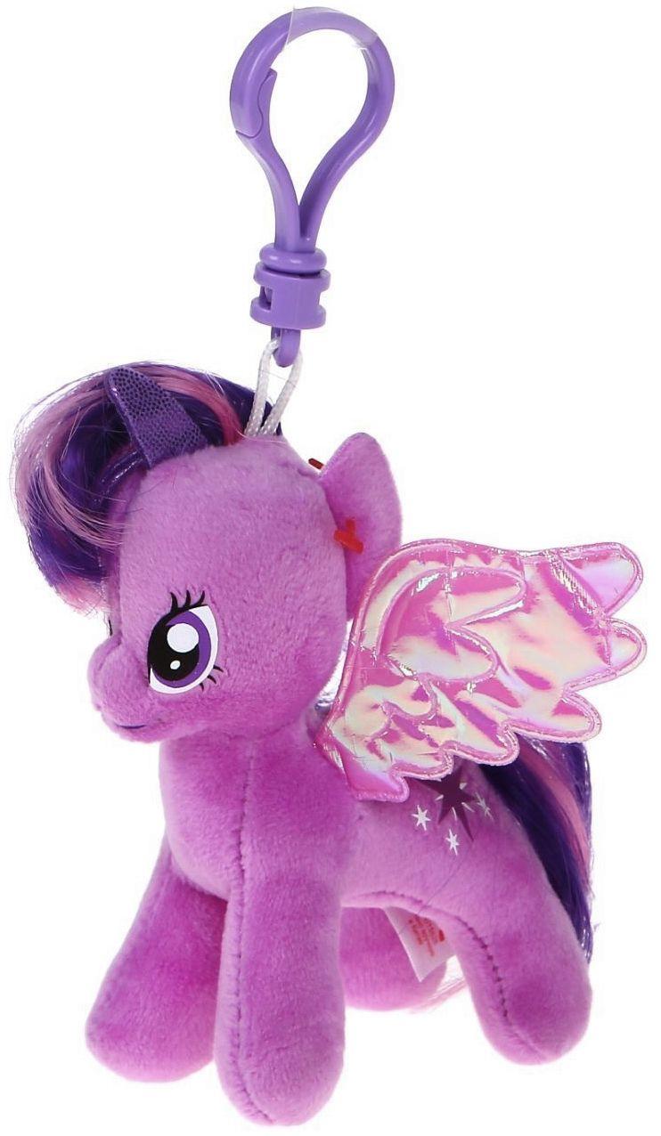 Ключодържател TY Toys My Little Pony - Плюшено пони Twilight Sparkle, 11 cm - 1