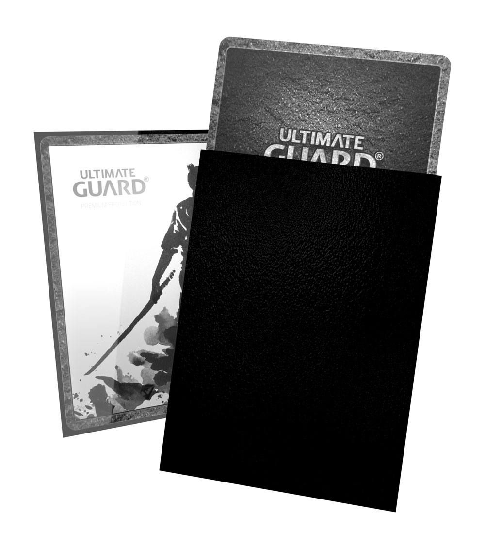Ultimate Guard Katana Sleeves Standard Size Black (100) - 3
