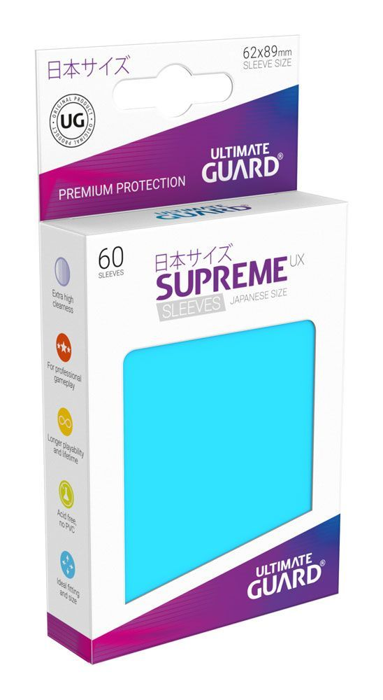 Ultimate Guard Supreme UX Sleeves Yu-Gi-Oh! Light Blue (60) - 1