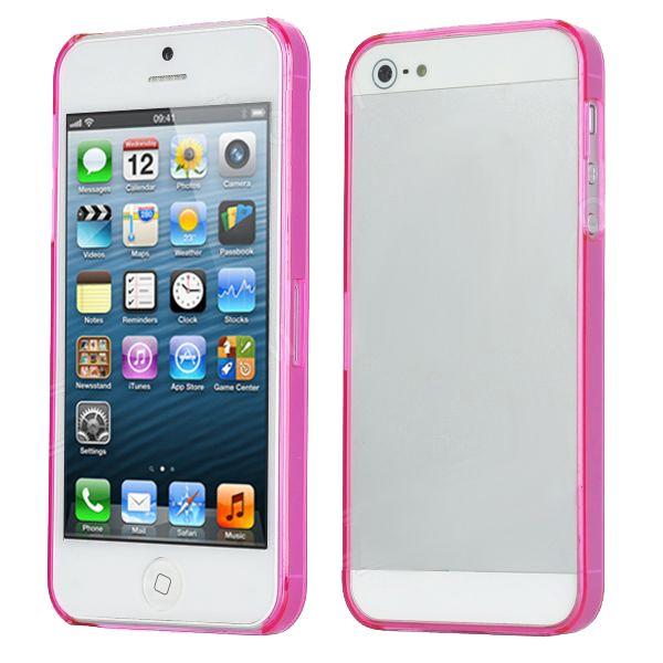 Ultraза iPhone 5 - Thin ABS - розов - 1