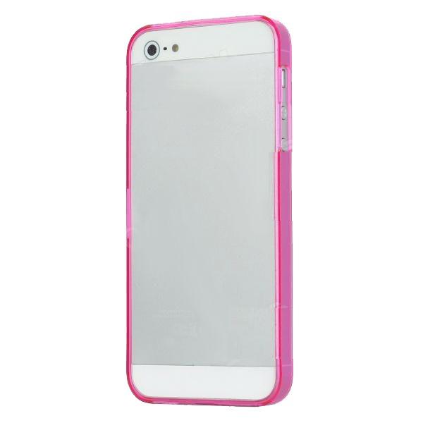 Ultraза iPhone 5 - Thin ABS - розов - 2
