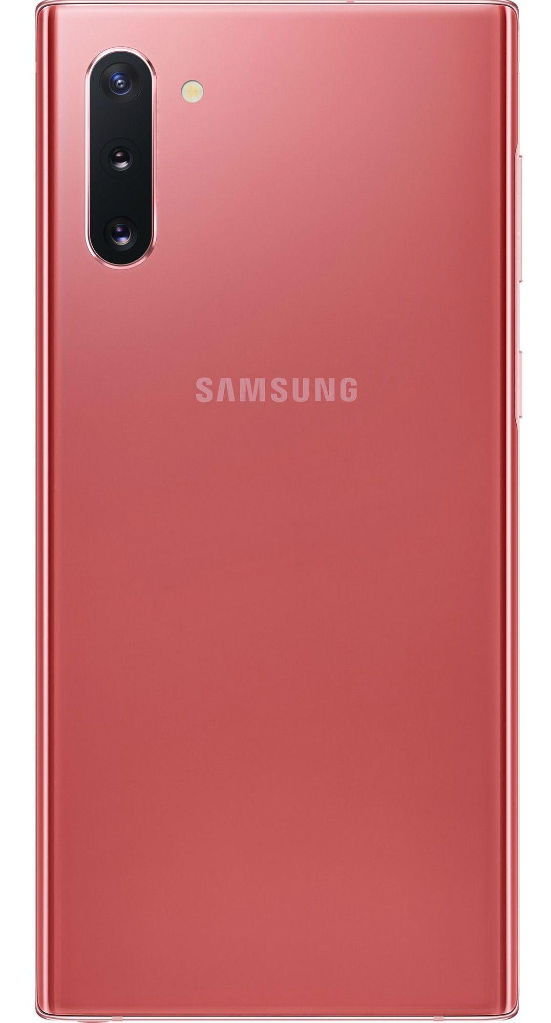 "Смартфон Samsung Galaxy Note 10 - 6.3"", 256GB, aura pink - 2"