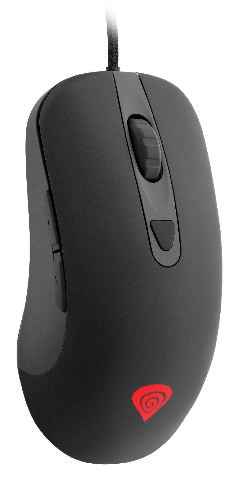 Гейминг мишка Genesis - Krypton 190, жична, оптична, черна - 2