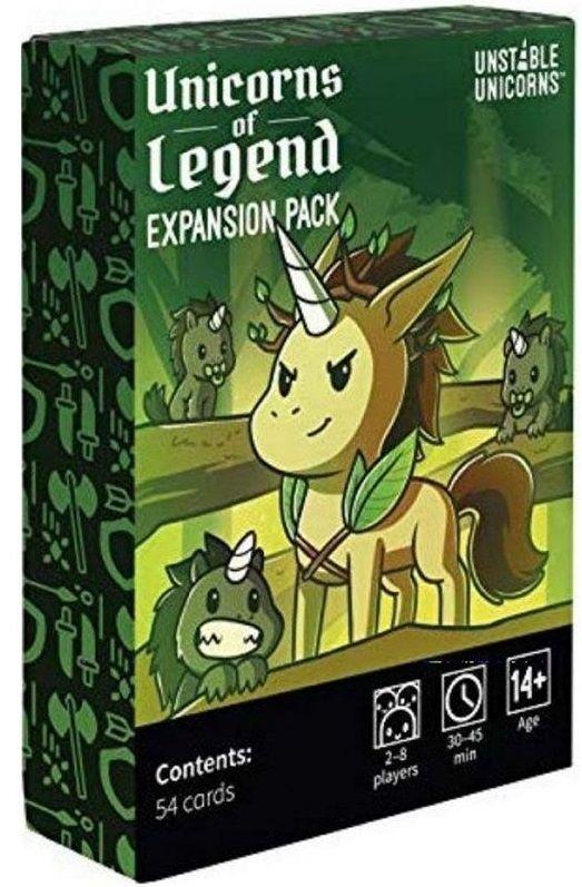 Разширение за настолна игра Unstable Unicorns - Unicorns of Legend Pack - 1