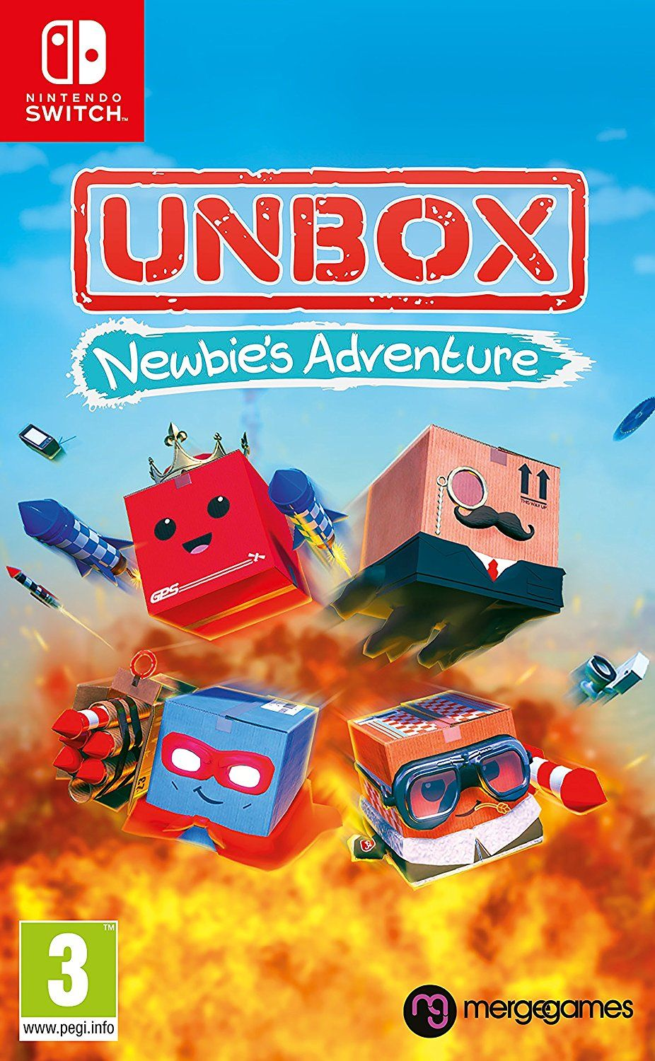 Unbox: Newbies Adventure (Nintendo Switch) - 1