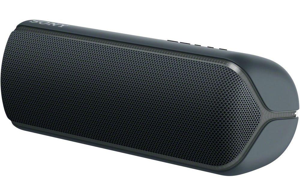 Мини колонка Sony - SRS-XB32, черна - 5