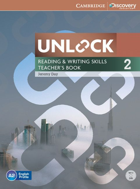 Unlock Level 2 Reading and Writing Skills Teacher's Book with DVD - 1