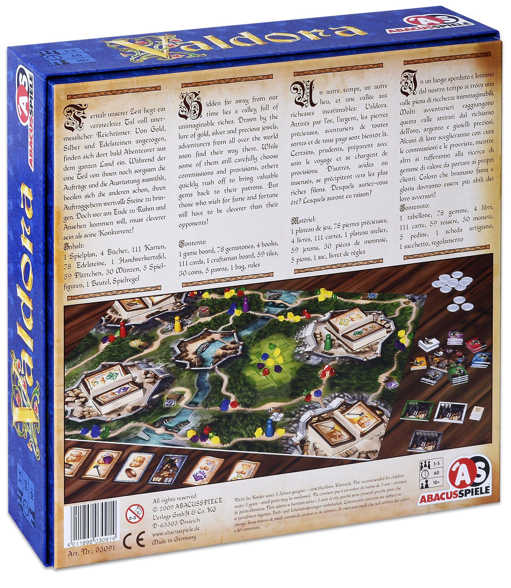 Настолна игра Valdora - 1