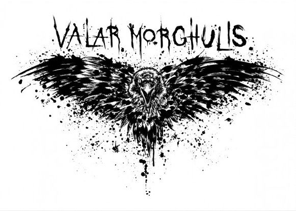Метален постер Displate - Game of Thrones: Valar Morghulis - 1