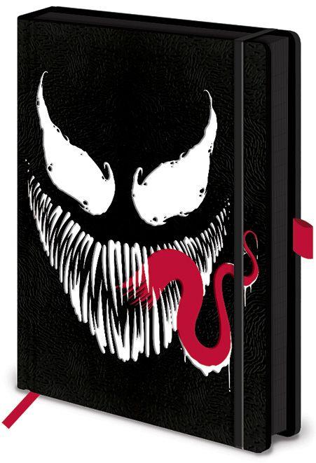 Тефтер Pyramid - Venom (Face), формат A5 - 1