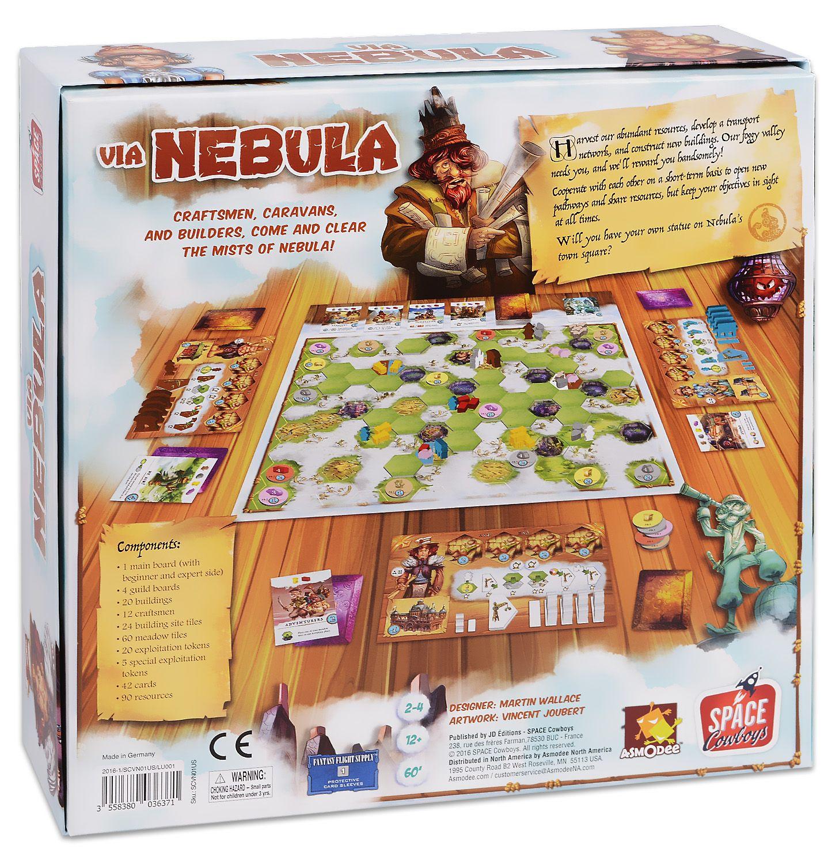 Настолна игра Via Nebula - 2