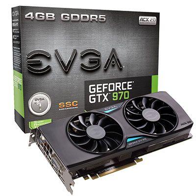 Видеокарта EVGA GeForce GTX970 SSC Gaming Edition (4GB GDDR5) - 1