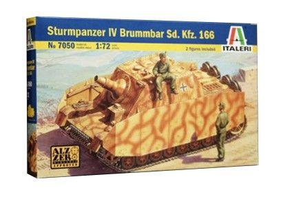Военен сглобяем модел - Германски танк STURMPANZER IV BRUMMBAR SD.KFZ.16 - 1