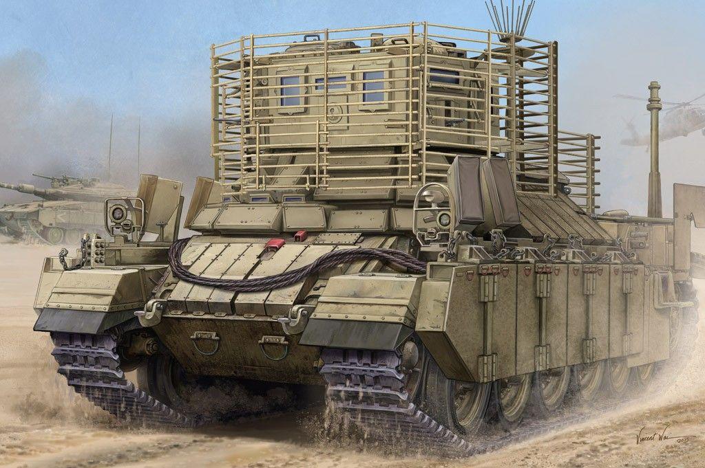 Военен сглобяем модел - Израелска тежко бронирана машина на пехотата Нагмахон Догхаус II (IDF APC Nagmachon Doghouse II) - 1