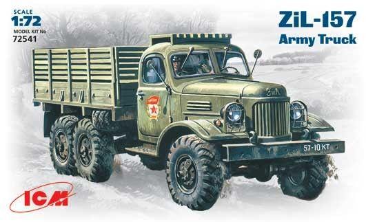 Военен сглобяем модел - Съветски армейски камион ЗиЛ-157 /ZiL-157/ - 1