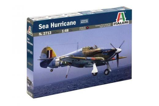 """Военен сглобяем модел - Британски изтребител Хоукър """"Морски ураган"""" Hawker Sea Hurricane - 1"""