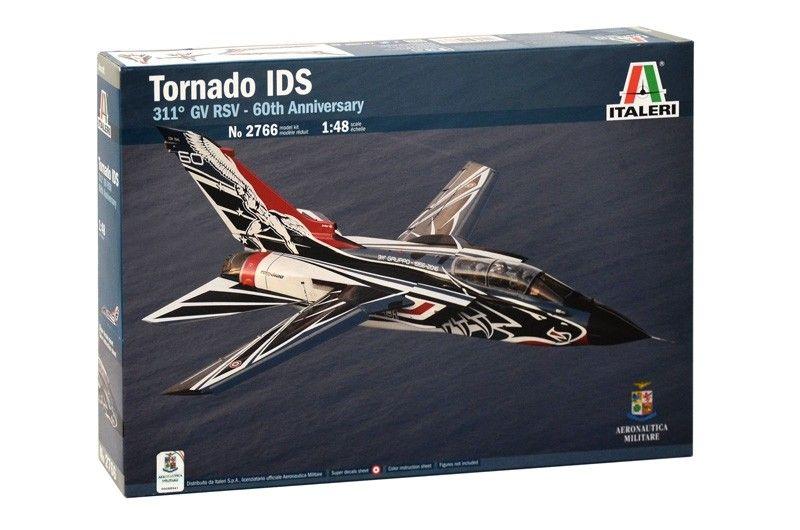 Военен сглобяем модел - Италиански двуместен реактивен многоцелеви боен самолет Панавиа Торнадо ИДС 60 (TORNADO IDS 60 ANNIV. 311 GV RSV Sp) - 1