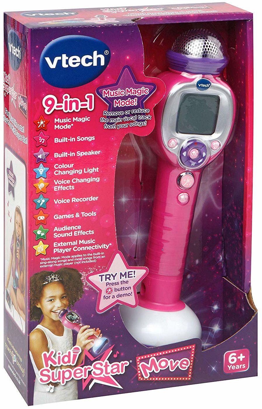 Детска играчка Vtech - Микрофон за караоке - 3