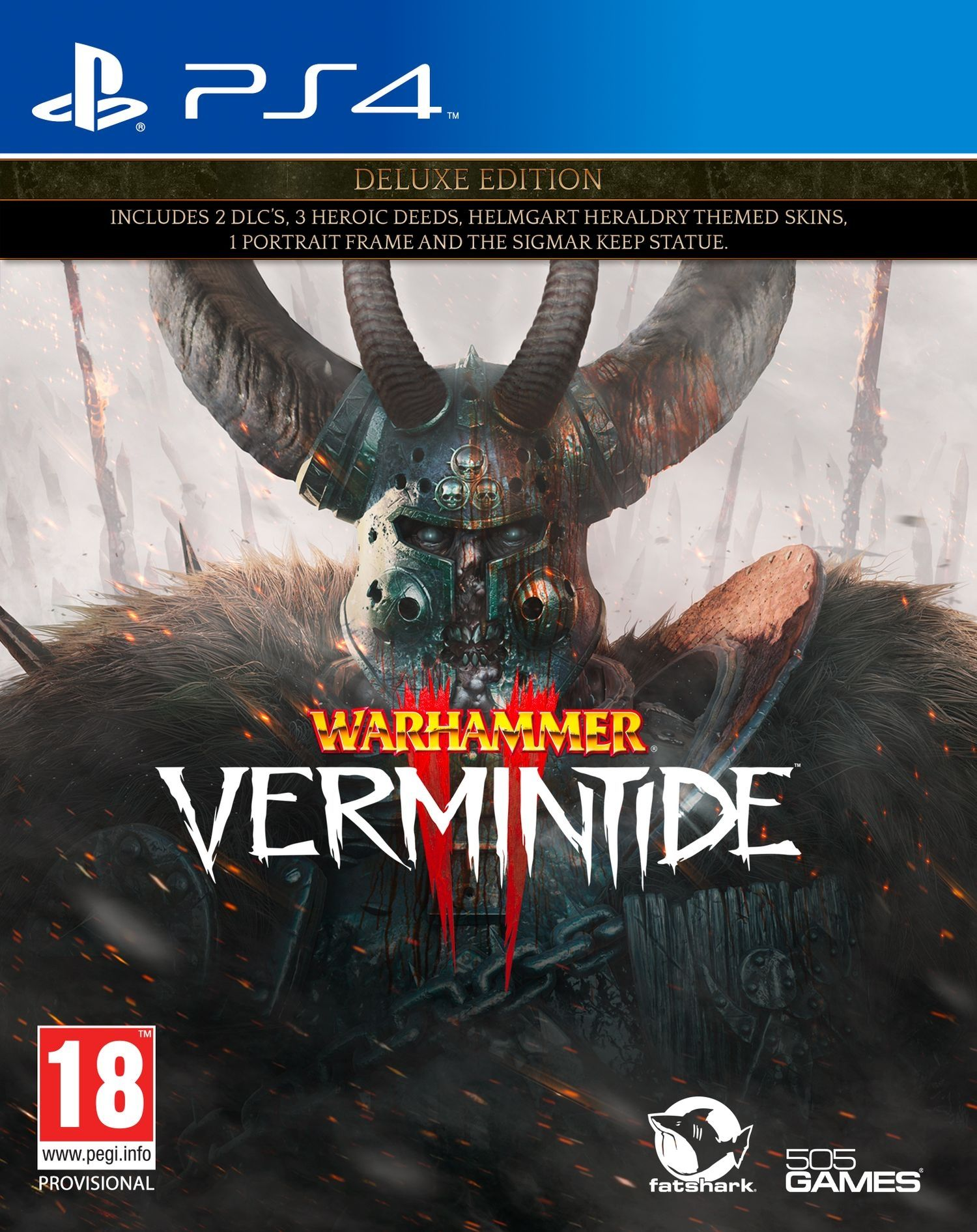 Warhammer: Vermintide 2 - Deluxe Edition (PS4) - 1