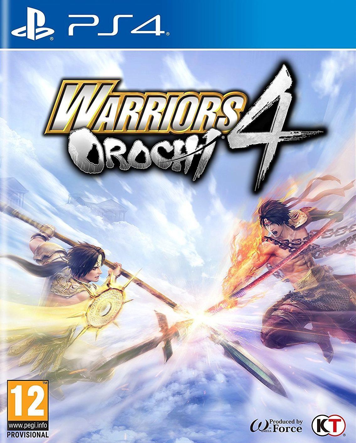 Warriors Orochi 4 (PS4) - 1