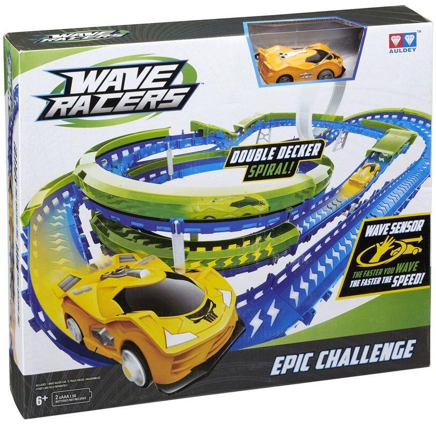 Писта Wave Racers - Epic Challenge, с кола със сензор за движение - 1