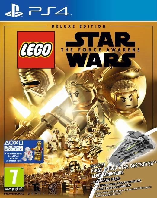 LEGO Star Wars The Force Awakens Deluxe Edition 1 (PS4) - 1