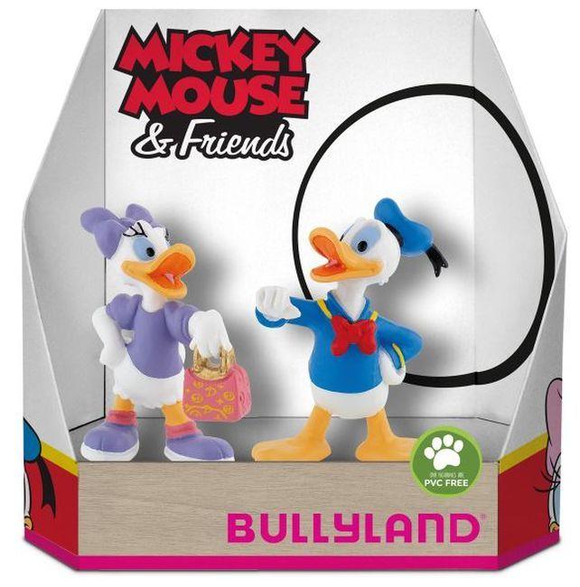Комплект фигурки Bullyland Mickey Mouse & Friends - Дейзи и Доналд - 1