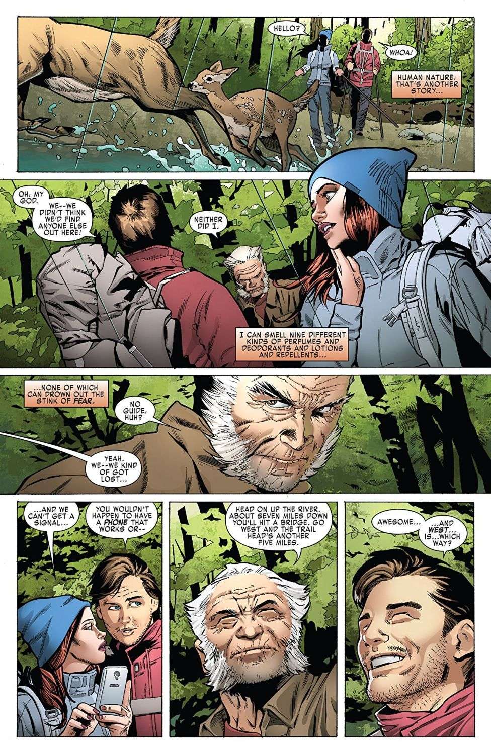 Weapon X Vol. 1 Weapons of Mutant Destruction Prelude - 3