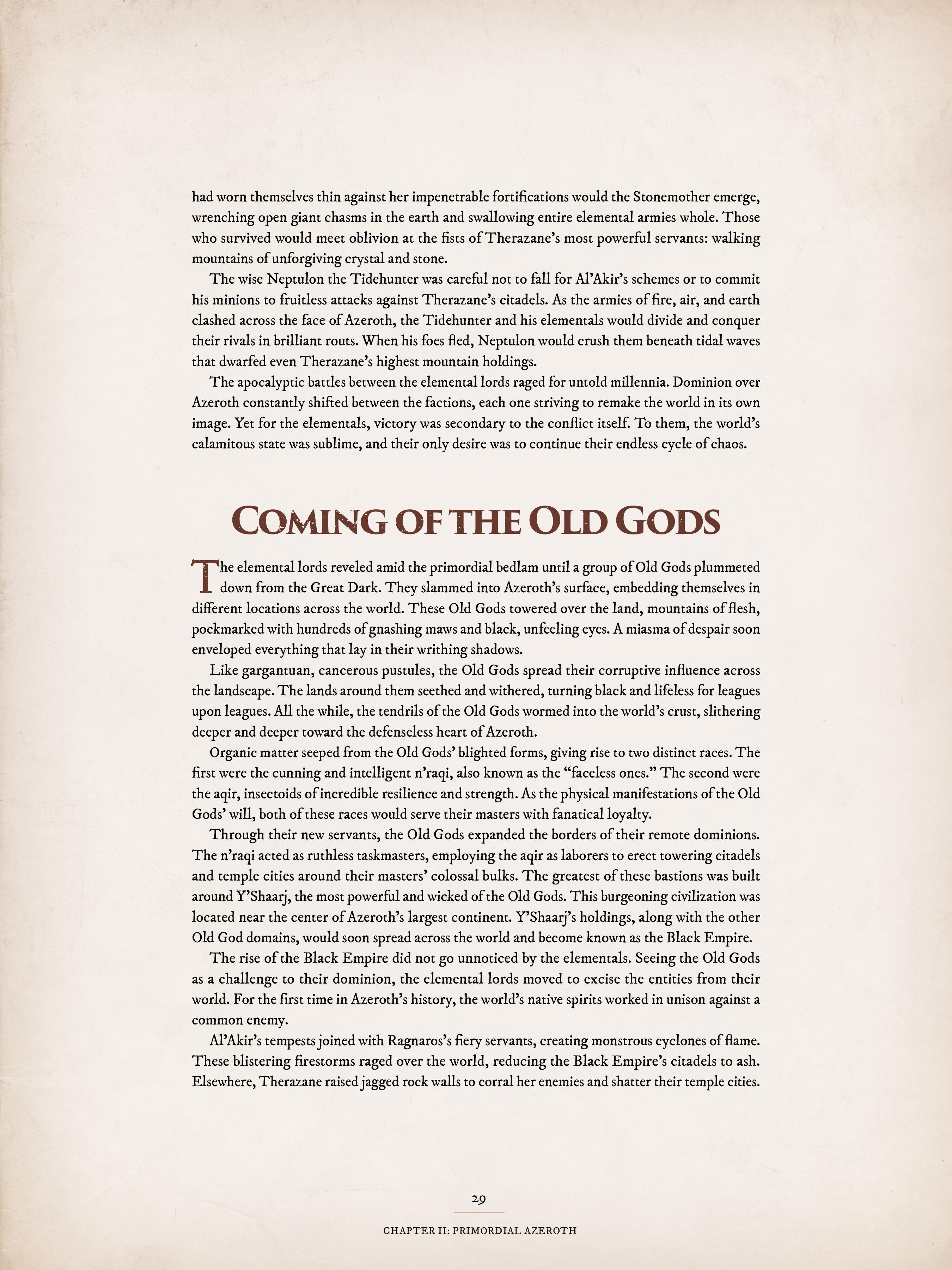 World of Warcraft Chronicle: Volume 1 - 20