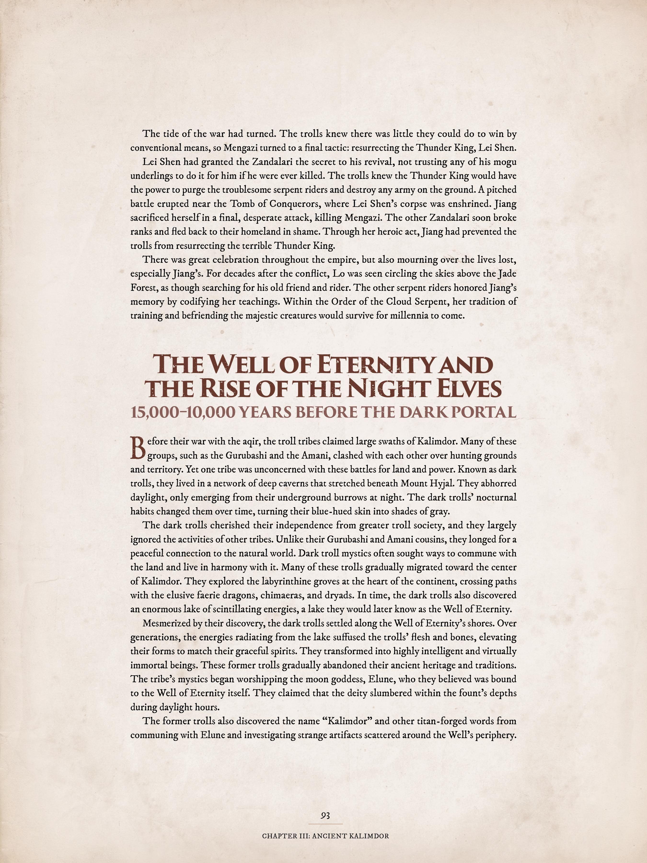 World of Warcraft Chronicle: Volume 1 - 23