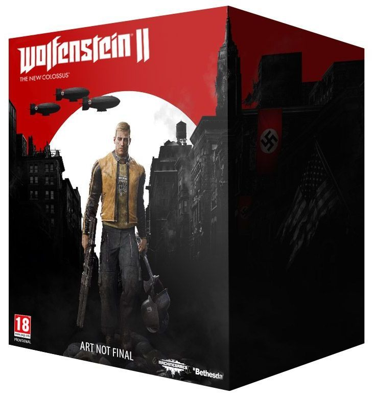 Wolfenstein 2 The New Colossus Collector's Edition (Xbox One) - 1