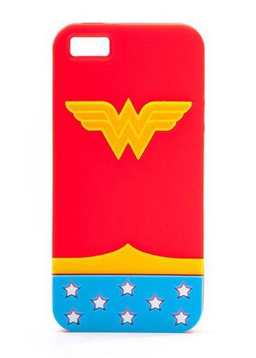 Калъф Wonder Woman за iPhone 5 - 1