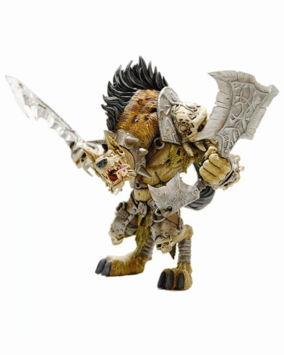 World of Warcraft Series 1 Premium Action Figure Gnoll Warlord Gangris Riverpaw 20 cm - 1