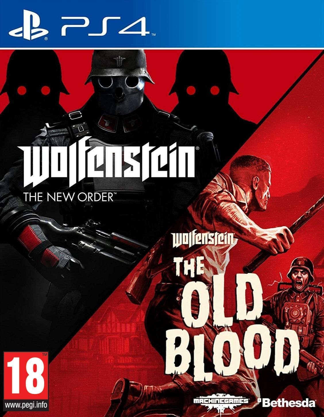 Wolfenstein: The New Order + The Old Blood (PS4) - 1