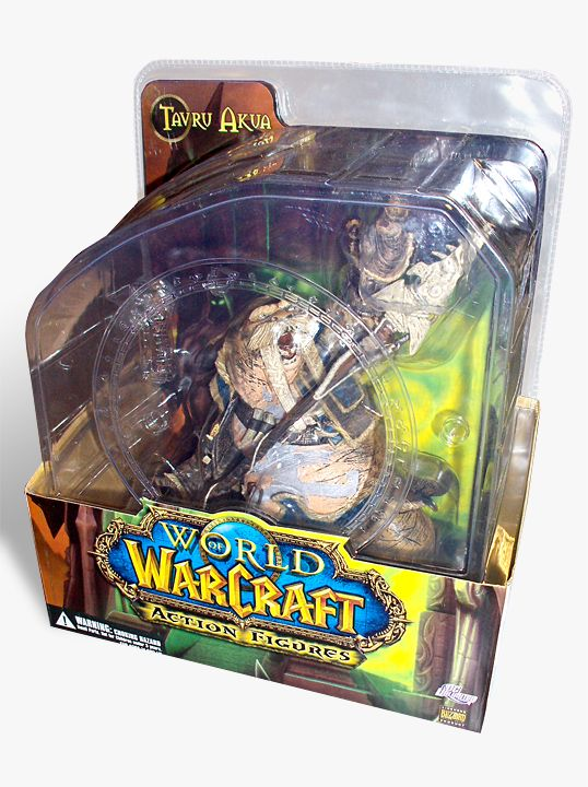 World of Warcraft Series 1 Premium Action Figure Tuskarr Tavru Akua 20 cm - 3
