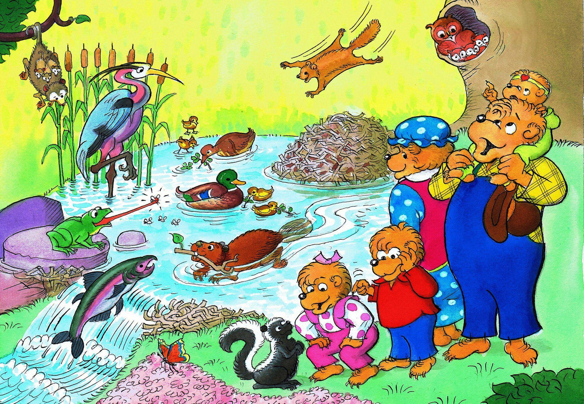 Пъзел New York Puzzle от 60 части - Животните от гората - 1