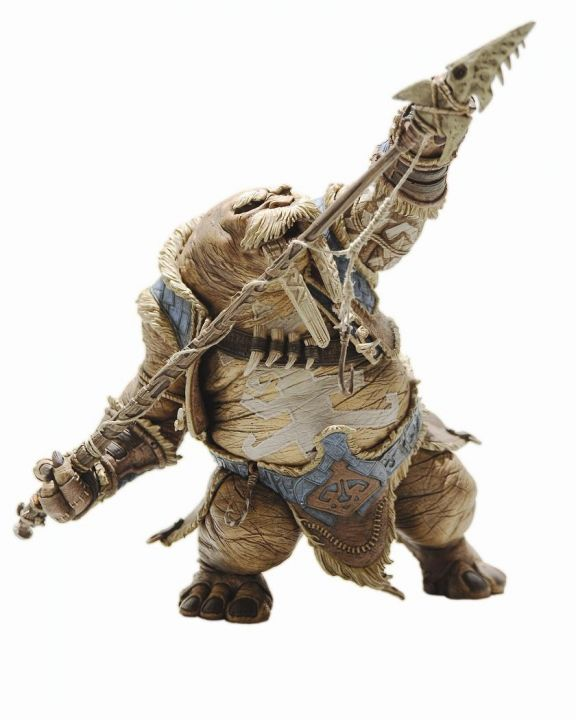 World of Warcraft Series 1 Premium Action Figure Tuskarr Tavru Akua 20 cm - 1